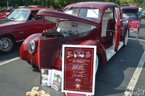 Dave Mattew's 1934 Ford Coupe